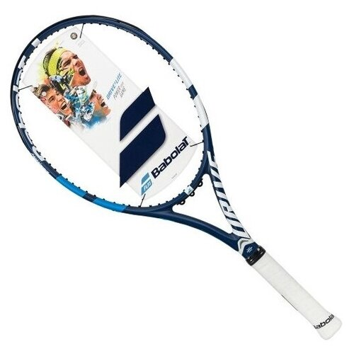 Ракетка для большого тенниса BABOLAT Drive G Lite, 2 ручка ракетка для большого тенниса babolat b fly 23 gr000 140244 детская 7 9 лет фиолет бирюзовый