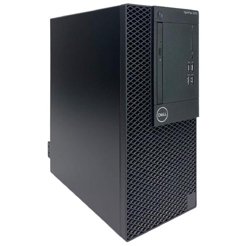 Настольный компьютер DELL Optiplex 3070 MT 3070-1892 Mini-Tower/Intel Core i5-9500/8 ГБ/256 ГБ SSD/Intel UHD Graphics 630/Linux черный компьютер dell precision 3630 mt intel core i7 8700 3200 mhz 16gb 256gb ssd dvd rw nvidia geforce gtx 1080 10gb dos