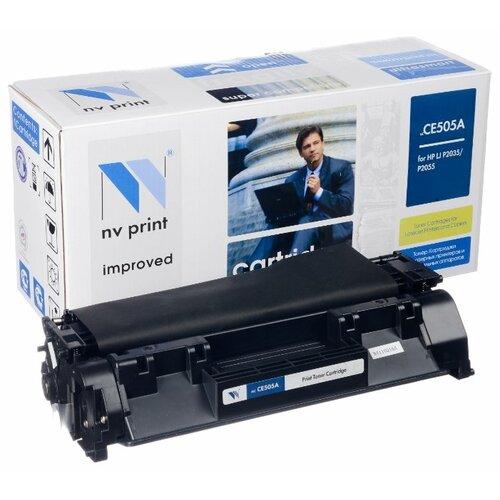 Фото - Картридж NV Print CE505A для HP, совместимый картридж nv print q7581a для hp