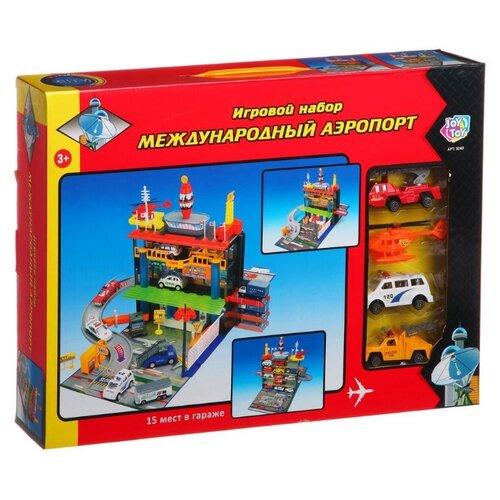 Joy Toy Международный аэропорт 3040 разноцветный трансформер joy toy бомбардир