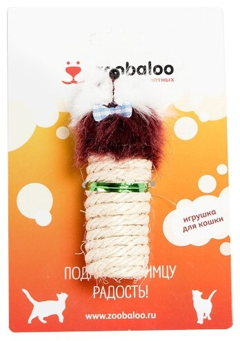 Когтеточка Zoobaloo цилиндр Мышка
