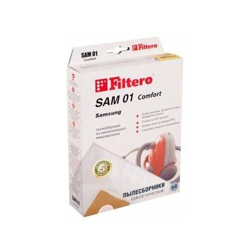 цена на Filtero Мешки-пылесборники SAM 01 Comfort 4 шт.