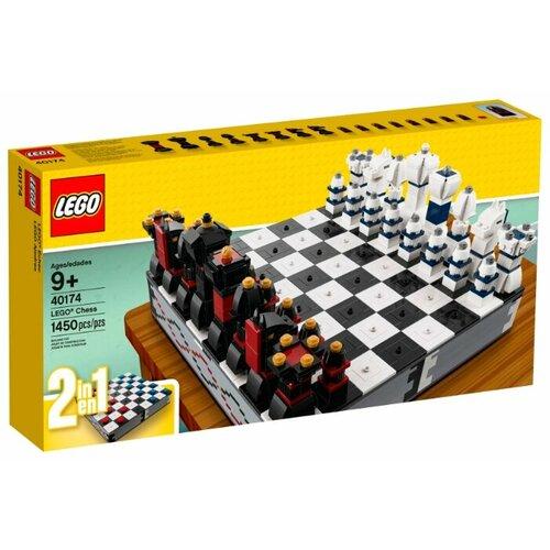 Фото - Конструктор LEGO Creator 40174 Шахматы и шашки lego creator городской магазин игрушек 31105