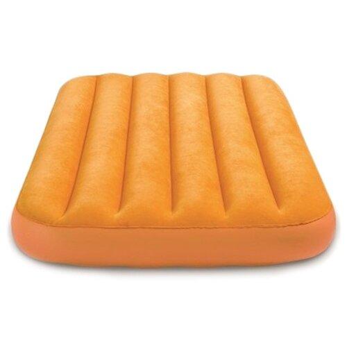 Фото - Надувной матрас Intex Cozy Kids Airbed (66803) оранжевый надувной матрас intex mid rice airbed 64116 светло темно серый