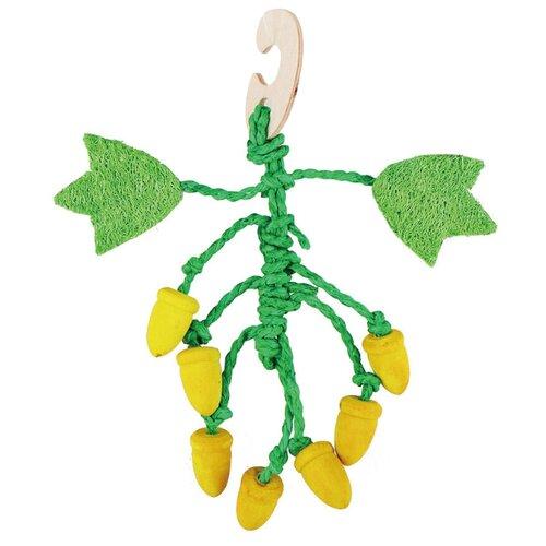 Игрушка для грызунов Fauna International Фундук 22см дерево, люффа