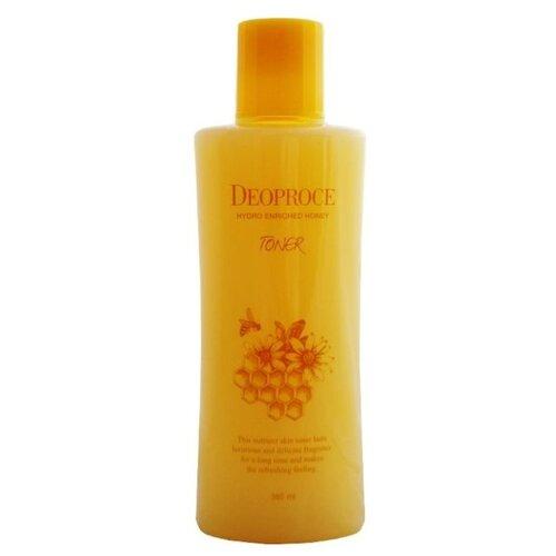 Deoproce Тонер питательный с экстрактом меда Hydro Enriched Honey 380 мл innisfree тонер питательный ginger honey ampoule skin 200 мл