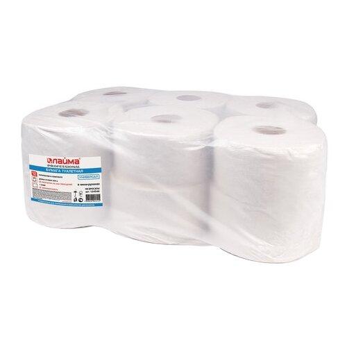 Купить Туалетная бумага Лайма Универсал белая однослойная 124546 12 рул.