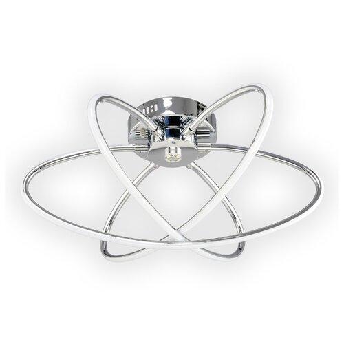 Люстра светодиодная Максисвет Геометрия 1-1430-3-CR LED, LED, 64 Вт люстра максисвет геометрия 1 1696 6 cr y led
