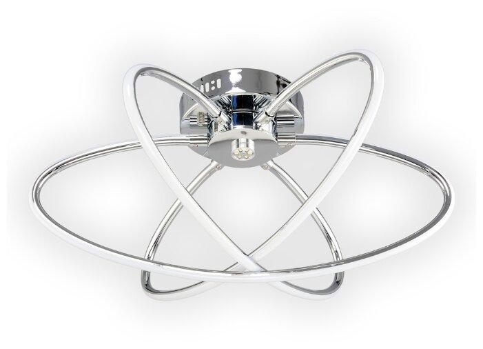 Люстра светодиодная Максисвет Геометрия 1-1430-3-CR LED, LED, 64 Вт
