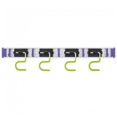 PALISAD Кронштейн для садового инструмента 68304 зеленый/фиолетовый/черный
