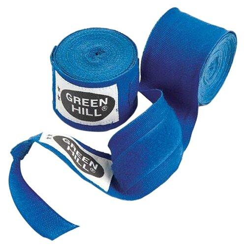 Кистевые бинты Green hill BP-6232a 2,5 м синий