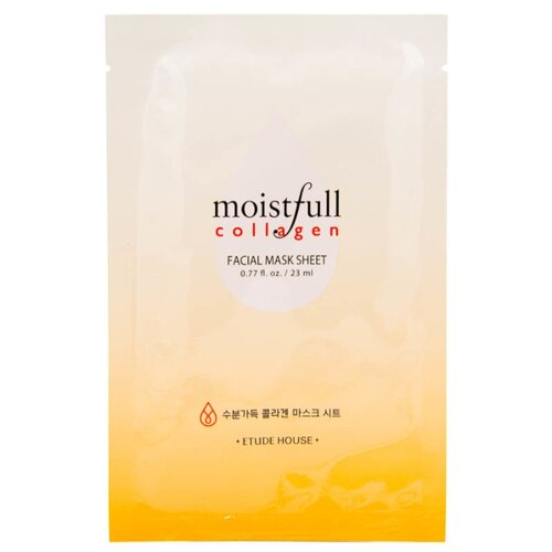 Etude House тканевая маска с коллагеном Moistfull Collagen Mask Sheet, 23 мл moistfull collagen