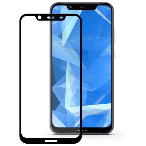 Защитное стекло Mobius 3D Full Cover Premium Tempered Glass для Nokia 8.1 черный аксессуар защитное стекло для nokia 3 5 inch gecko 0 26mm zs26 gnok3