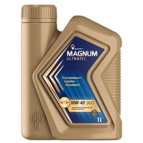 Моторное масло Роснефть Magnum Ultratec 10W-40 1 л