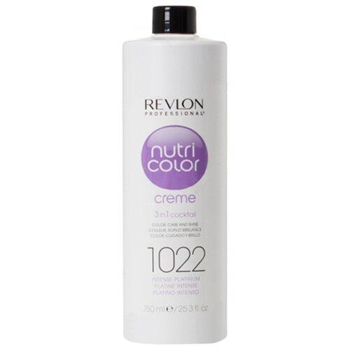 Крем Revlon Professional Nutri Color 3 in 1 cocktail 1022 Intense Platinum, 750 млОттеночные и камуфлирующие средства<br>