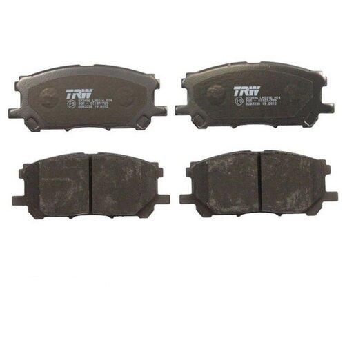 Дисковые тормозные колодки передние TRW GDB3338 для Toyota Highlander, Toyota Kluger, Toyota Harrier, Lexus RX (4 шт.)