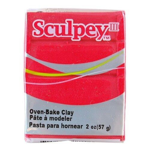 Купить Полимерная глина Sculpey III 1140 (жемчужно-красный), 57г, Глина
