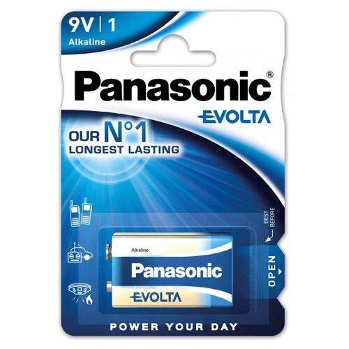 Батарейка Panasonic Evolta 9V Крона 1 шт блистер