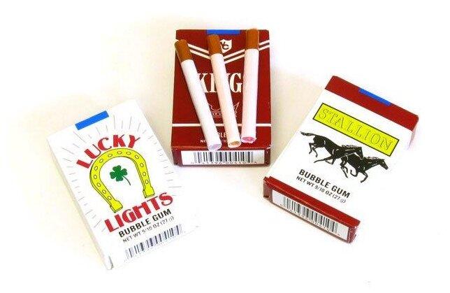 Жвачка сигарета купить спб одноразовые электронные сигареты вредность