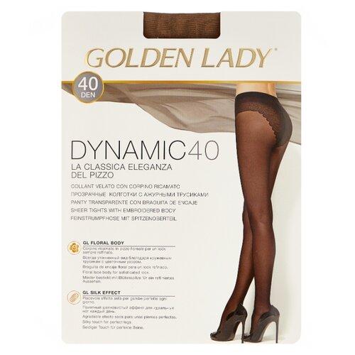 Колготки Golden Lady Dynamic 40 den, размер 4-L, daino (бежевый) колготки golden lady leda 20 den размер 4 l daino бежевый