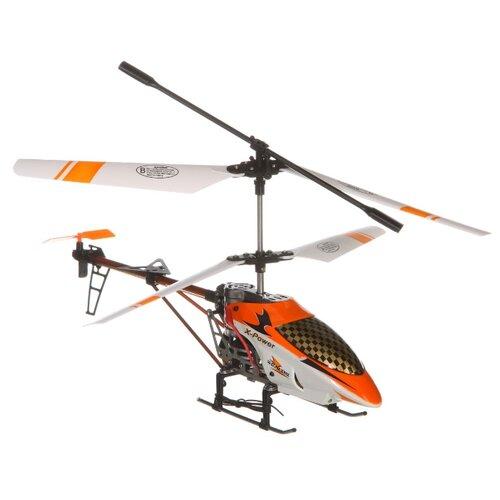 Купить Вертолет Shenzhen Toys Golden Scorpion (YD-811) 38 см золотистый/белый, Радиоуправляемые игрушки