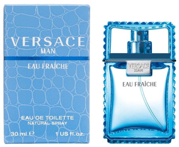 Туалетная вода Versace Versace Man Eau Fraiche — купить по выгодной цене на Яндекс.Маркете
