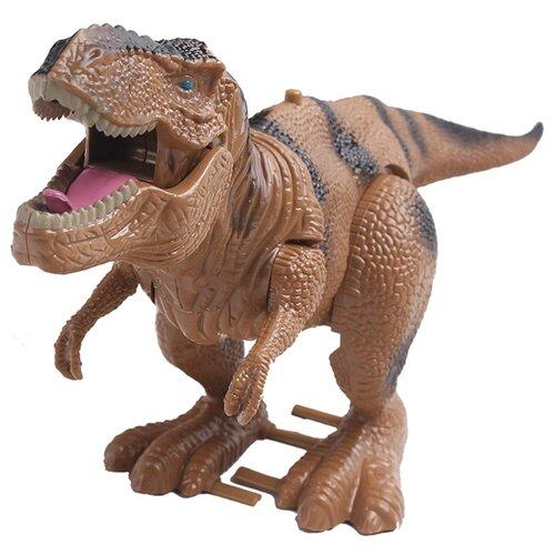Купить Робот kari Динозавр коричневый, Роботы и трансформеры