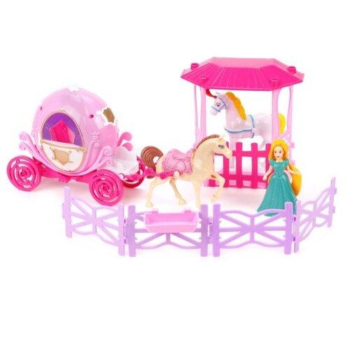 Купить Игровой набор Shantou Gepai Fashion Carriage, 9.5 см, SS021A, Куклы и пупсы