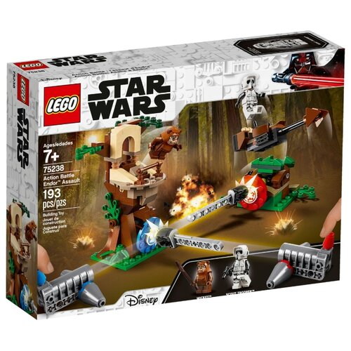 Конструктор LEGO Star Wars 75238 Нападение на планету Эндор lego нападение на планетуэндор разноцветный