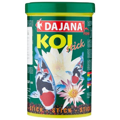 Сухой корм для рыб Dajana Pet Koi Stick 1000 мл 450 г сухой корм для рыб dajana pet malawi flakes 1000 мл 200 г