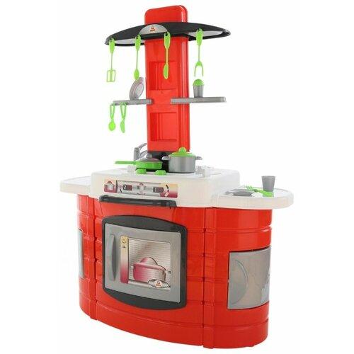 Кухня Palau Toys BU-BU №2 57020 красный/белый/зеленый/серый, Детские кухни и бытовая техника  - купить со скидкой
