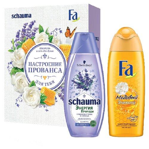 Набор Schauma Прованские Травы + FA Медовый Эликсир со эликсир купить