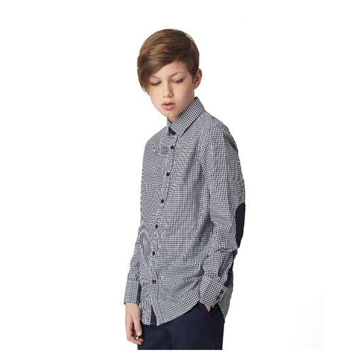 Купить Рубашка Gulliver размер 146, синий, Рубашки