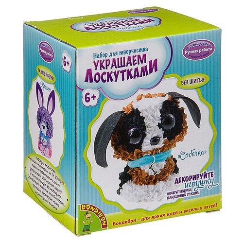 Купить BONDIBON Набор для творчества Украшаем лоскутками Собачка (ВВ2816), Поделки и аппликации