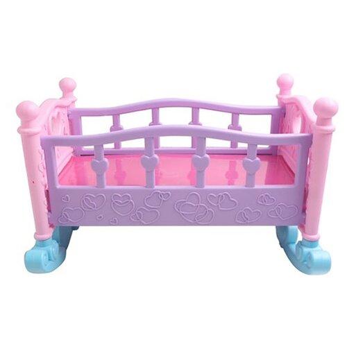 Kari Кроватка для кукол B1074096 (37306000) розовыйМебель для кукол<br>