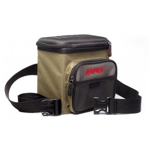Фото - Поясная сумка для рыбалки Rapala Limited Lure Bag 20х15х20см зеленый/черный/серый товары для рыбалки