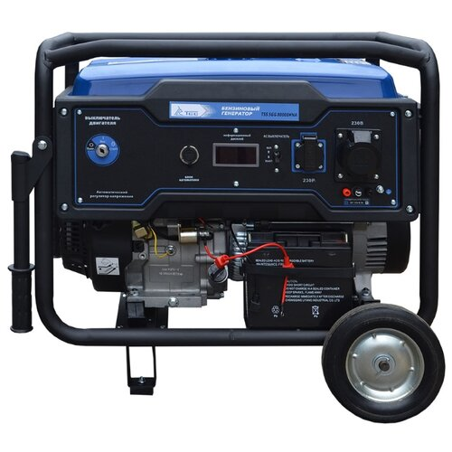 Фото - Бензиновый генератор ТСС SGG 8000EHNA (8000 Вт) бензиновый генератор тсс sgg 5000 eh 5000 вт