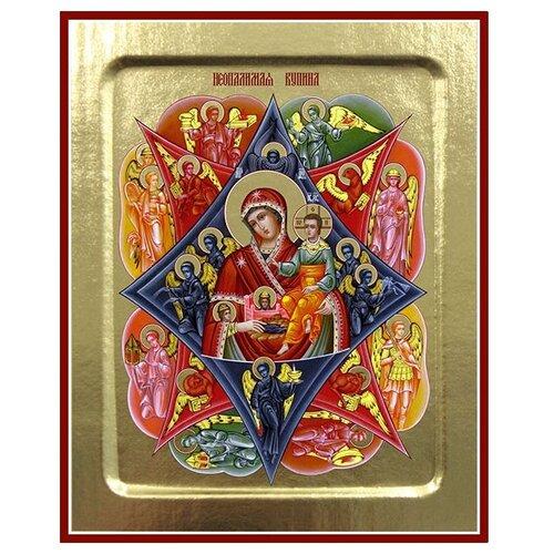 Икона Пресвятой Богородицы Неопалимая Купина, 12.5х16 см
