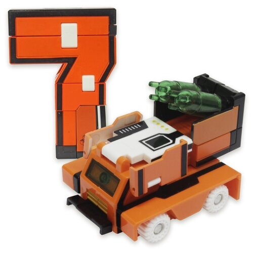 Купить Трансформер 1 TOY Трансботы XL Боевой расчет - 7 - Панцирь оранжевый, Роботы и трансформеры