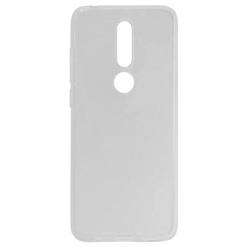 Чехол Akami для Nokia 5.1 Plus (прозрачный силикон) бесцветныйЧехлы<br>