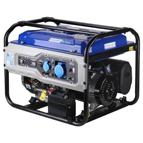 Фото - Бензиновый генератор ТСС SGG 9000ELA (8000 Вт) бензиновый генератор тсс sgg 5000 eh 5000 вт