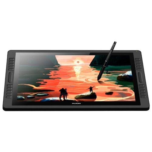 Интерактивный дисплей HUION KAMVAS Pro 22 черный huion h1060p