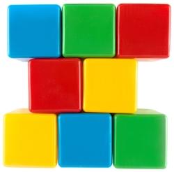 Кубики Пластмастер набор 14022