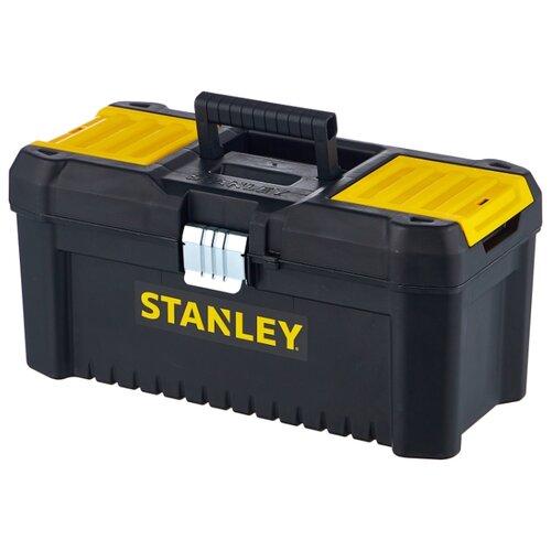 Ящик с органайзером STANLEY STST1-75518 Essential Toolbox Metal Latch 41x20x20 см 16'' черный ящик с органайзером stanley stst1 75518 essential toolbox metal latch 41x20x20 см 16 черный