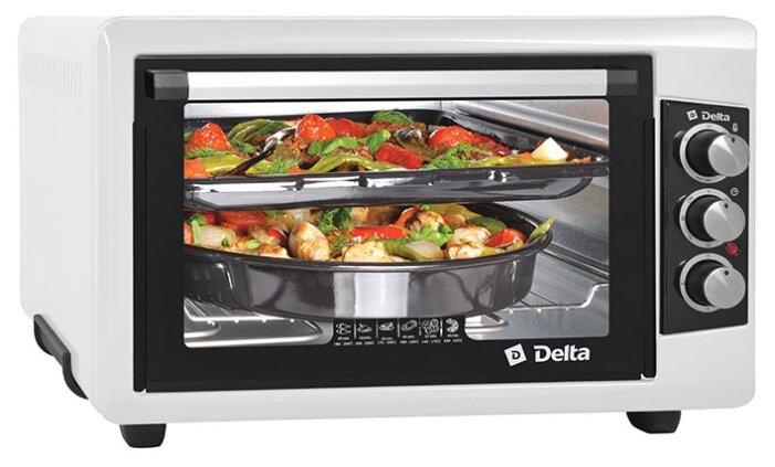 Стоит ли покупать Мини-печь DELTA D-0550 белый - 15 отзывов на Яндекс.Маркете (бывший Беру)