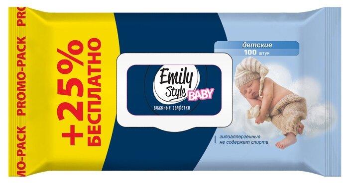 Влажные салфетки Emily Style Детские