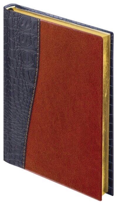 Ежедневник BRAUBERG Cayman недатированный, искусственная кожа, А5, 160 листов