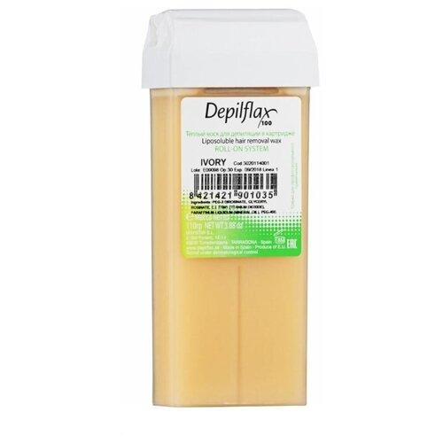 Depilflax Воск Слоновая кость в картридже 110 гВосковая эпиляция<br>