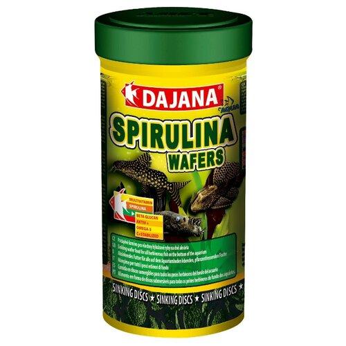 Сухой корм Dajana Pet Spirulina Wafers для рыб 250 мл 100 г