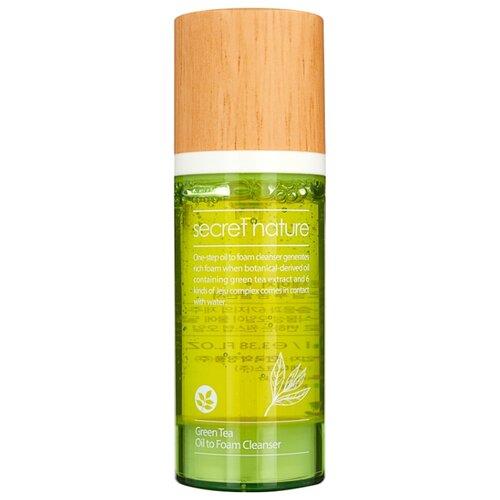 Купить Secret Nature гидрофильное масло-пенка с зеленым чаем, 100 мл